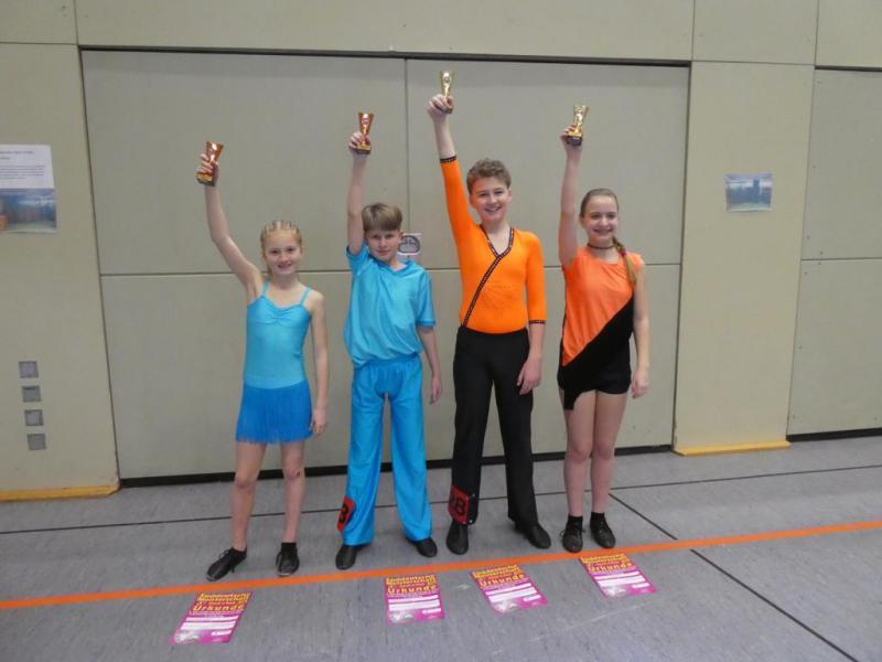 Tanzpaare erfolgreich in Saarlouis