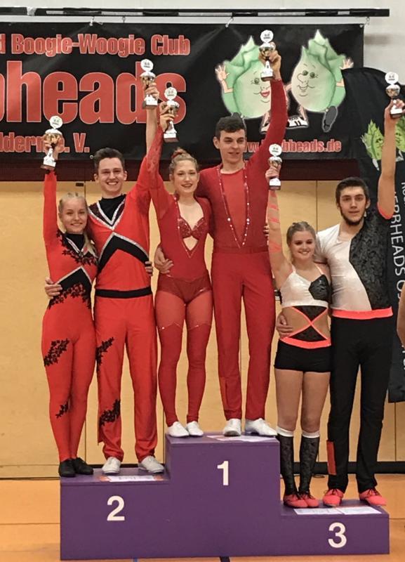Zweiter Sieg für Katrin und Elias innerhalb acht Tagen!
