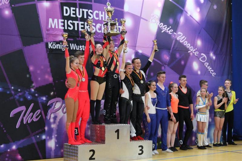 Deutsche Meisterschaften Rock'n'Roll Akrobatik in Königs Wusterhausen