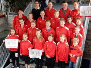 Read more about the article Vögele Optik sponsert neue Trainingsanzüge
