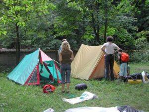 Jugend Zeltlager in Bötzingen