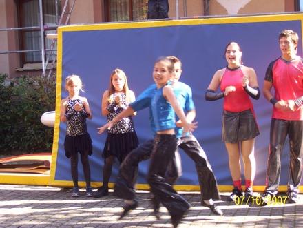 Showauftritt in Bahlingen