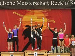 Süddeutsche Vizemeister kommen aus Bötzingen/Bronze für Katrin und Elias