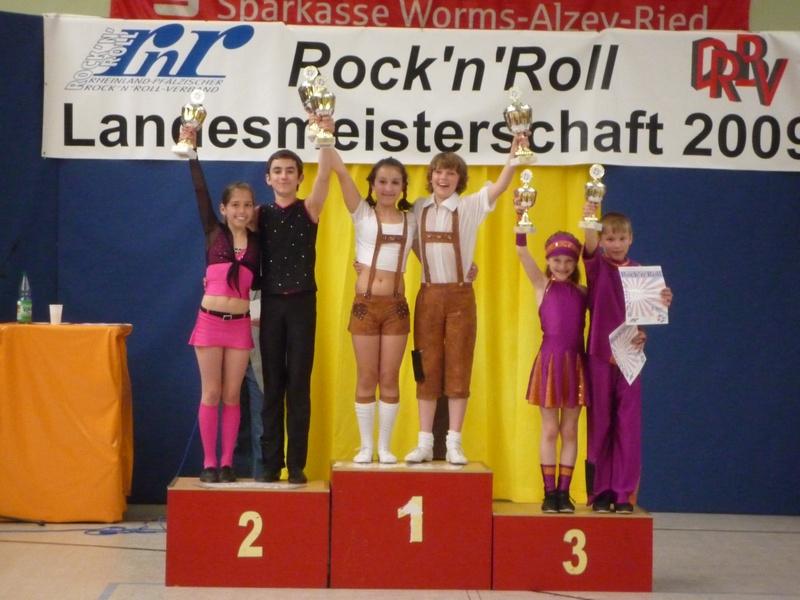 Rheinland-Pfälzischen Meisterschaften im Rock'n'Roll