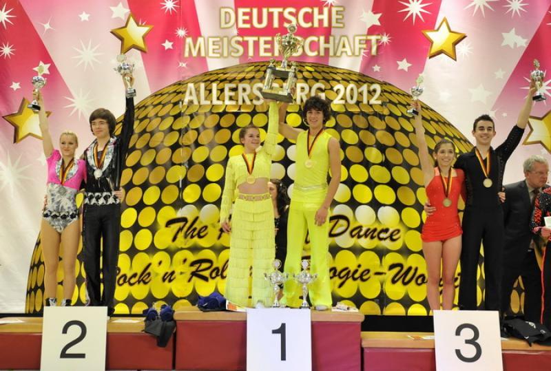 Bötzinger auf Treppchen bei Deutscher Meisterschaft